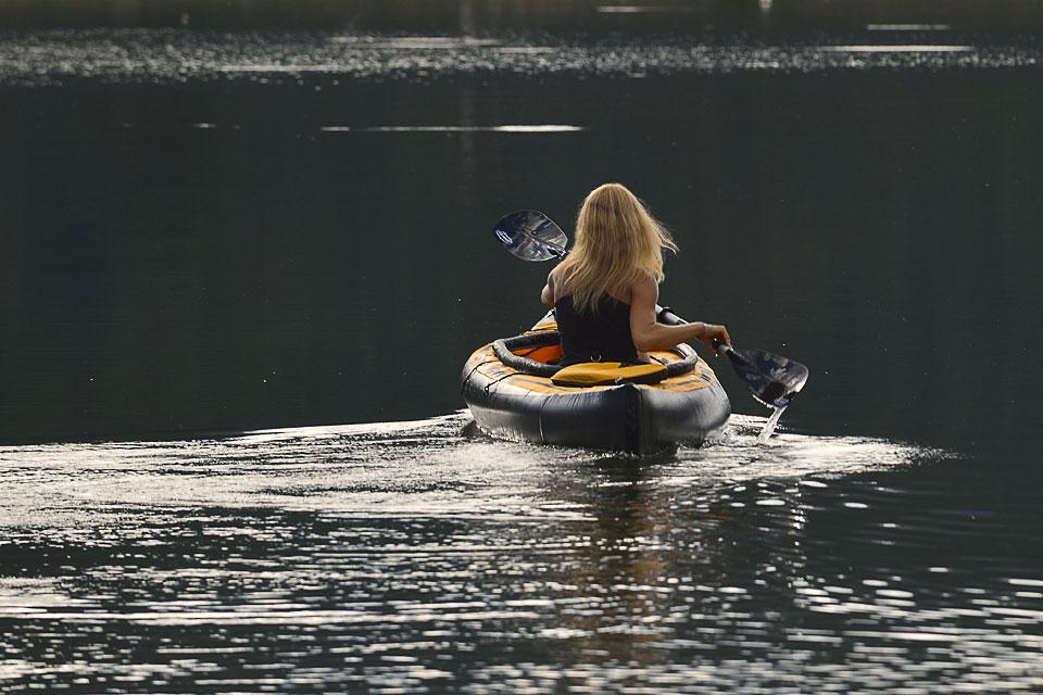 Canoé sur le Lac de Payolle
